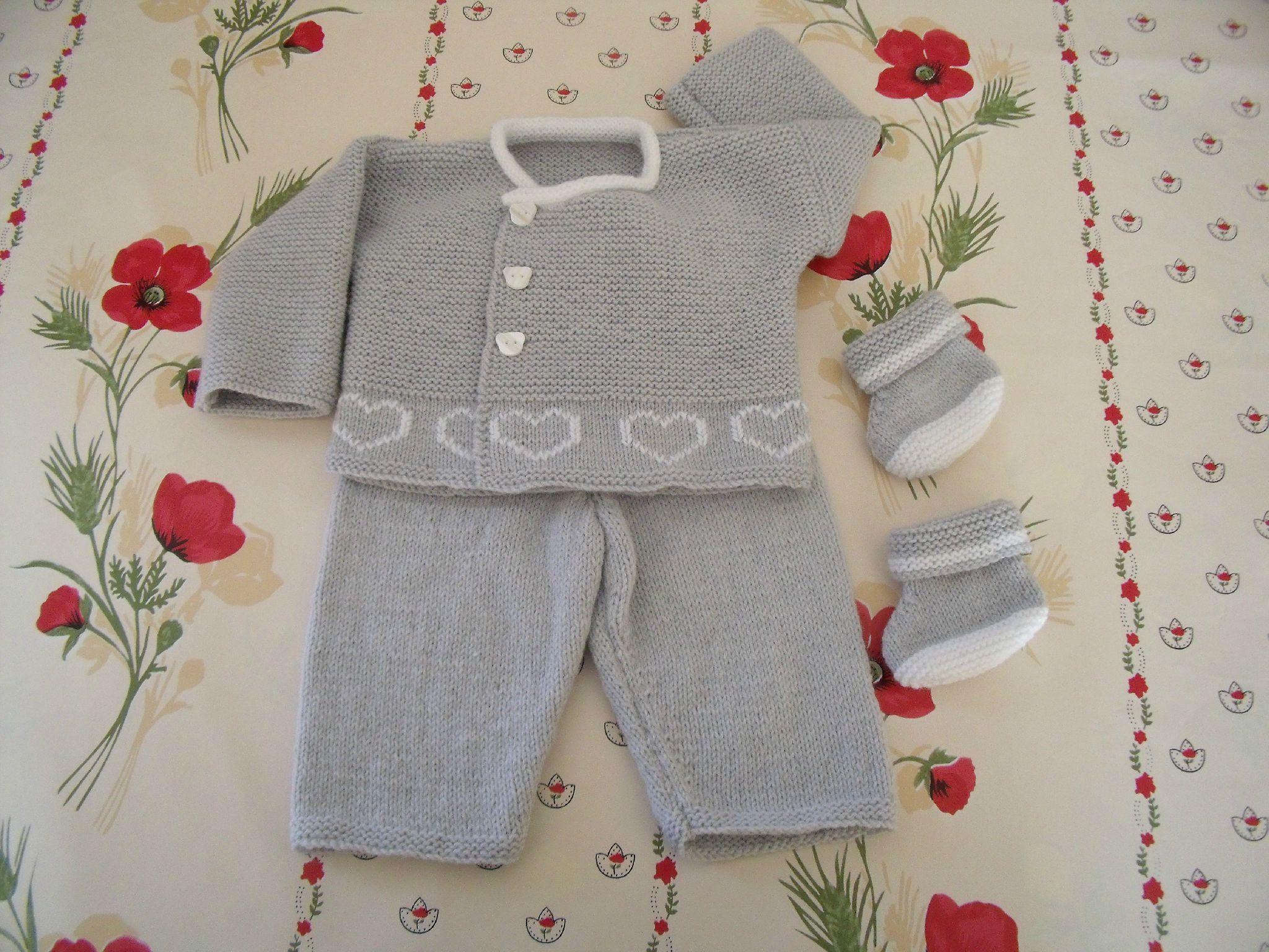 modele gratuit tricot layette prema   layette 456c944a741