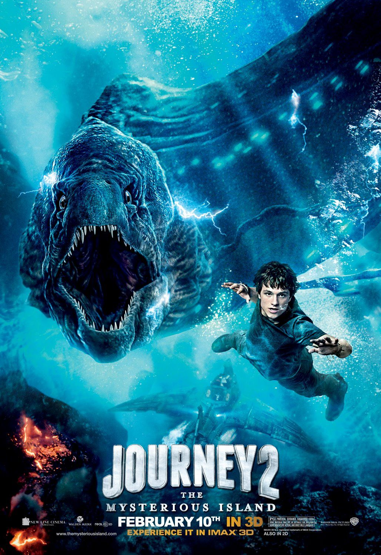 Utazas A Rejtelyes Szigetre 3d Journey 2 The Mysterious Island Karakter Poszterek The Mysterious Island Island Movies Adventure Movie
