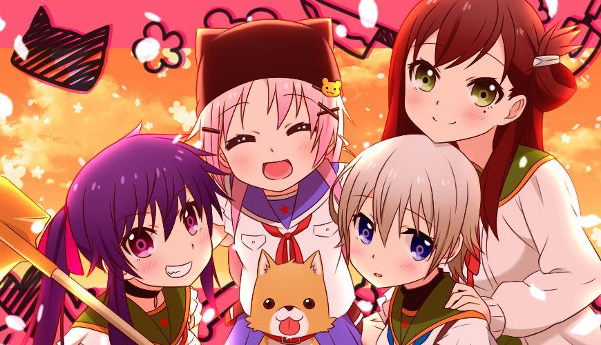 Gakkou Gurashi 1917295 Fullsize Image 870x500 Anime Kawaii Anime Otaku Anime