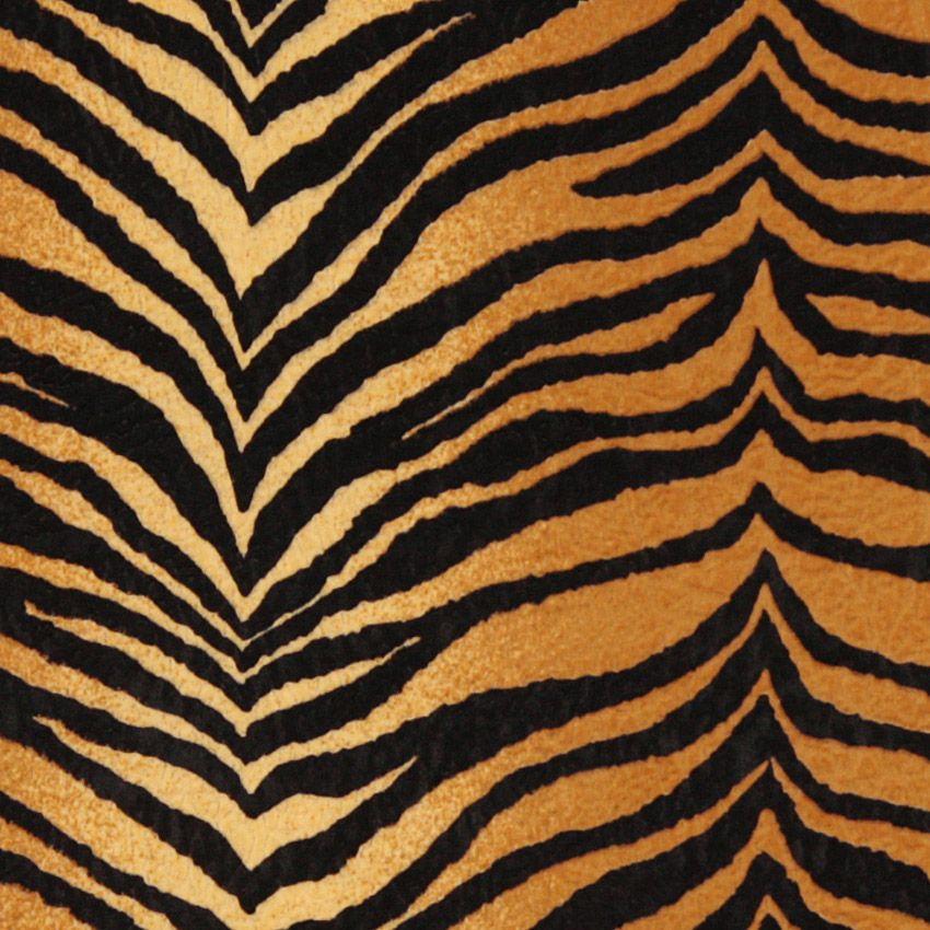Tiger Stripe Orange Fabric Rawr