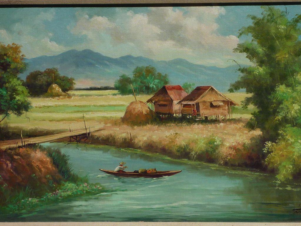 dg0509.7L.jpg (1024×768) | Philippine Paintings | Pinterest ... for Farm Philippines Painting  156eri