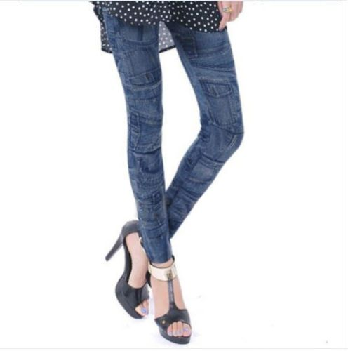Women Denim Jeans Sexy Skinny Leggings Jeggings Tights Stretch Pants Trousers | eBay