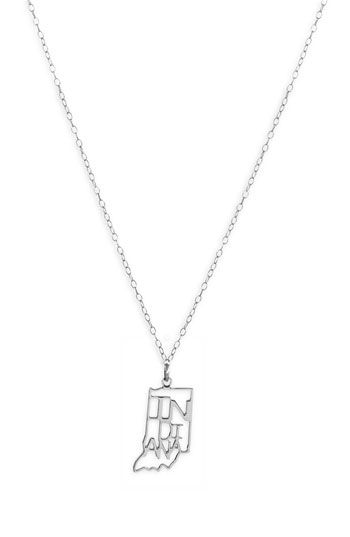 Kris nations state pendant necklace nordstrom order any state in kris nations state pendant necklace nordstrom order any state in either gold or silver aloadofball Images