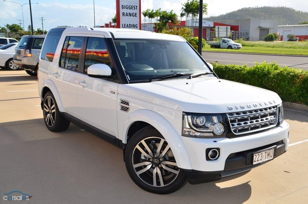 Fuji White 2013 Land Rover Discovery 4 Series 4 SDV6 HSE