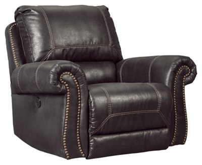 Milhaven Power Recliner by Ashley HomeStore, Black Power recliners