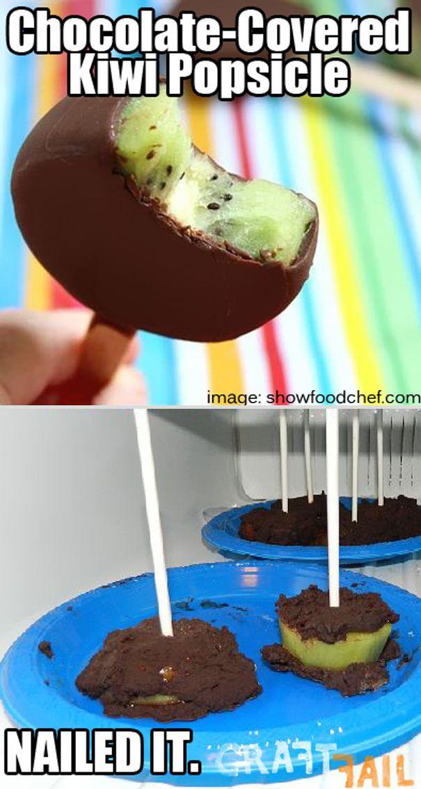 Ultimate Pinterest Food Fails -kiwi