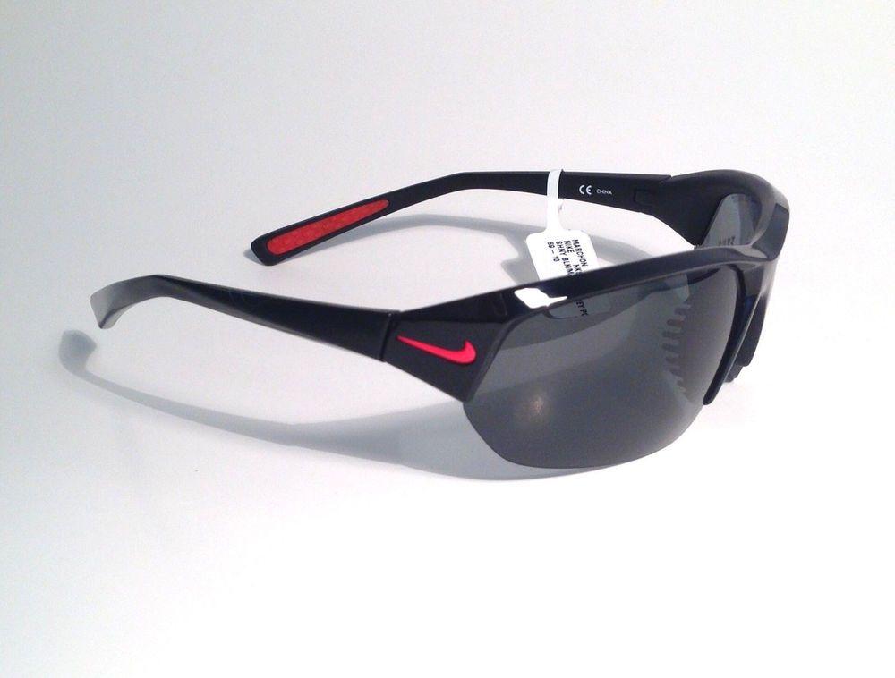 f22945ddc32 Nike Skylon Ace P Sunglass Shiny Matte Black Grey Max Polarized Lens ev0527  006  Nike  Sport