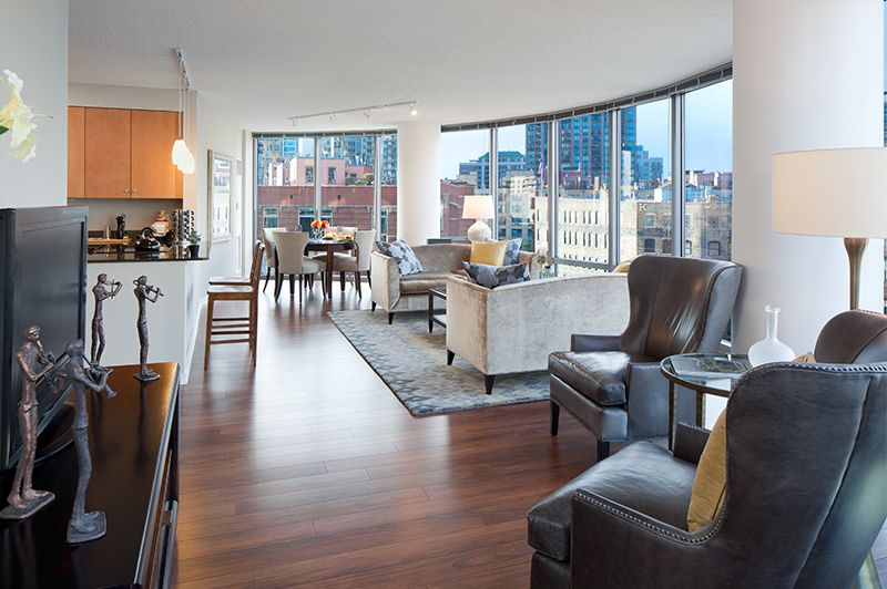 520 N Kingsbury St Chicago Il 60654 Luxury Apartments