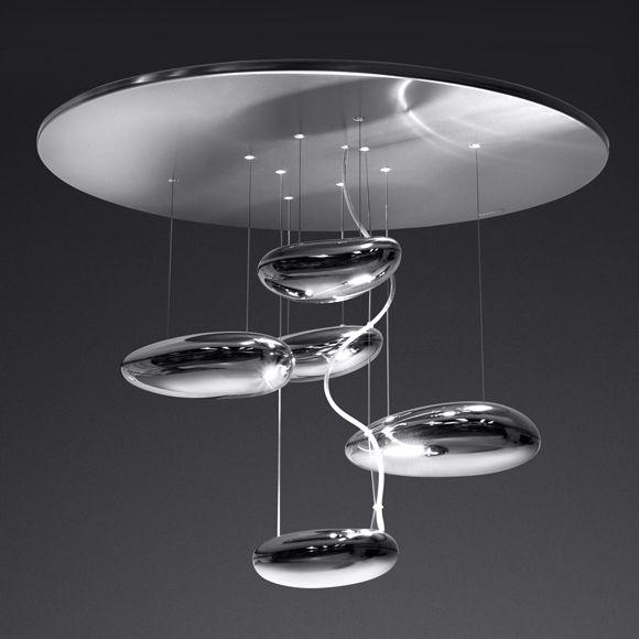 Artemide Mercury Mini Soffitto Inox Deckenleuchte Lampen Pinterest - deckenleuchten für schlafzimmer