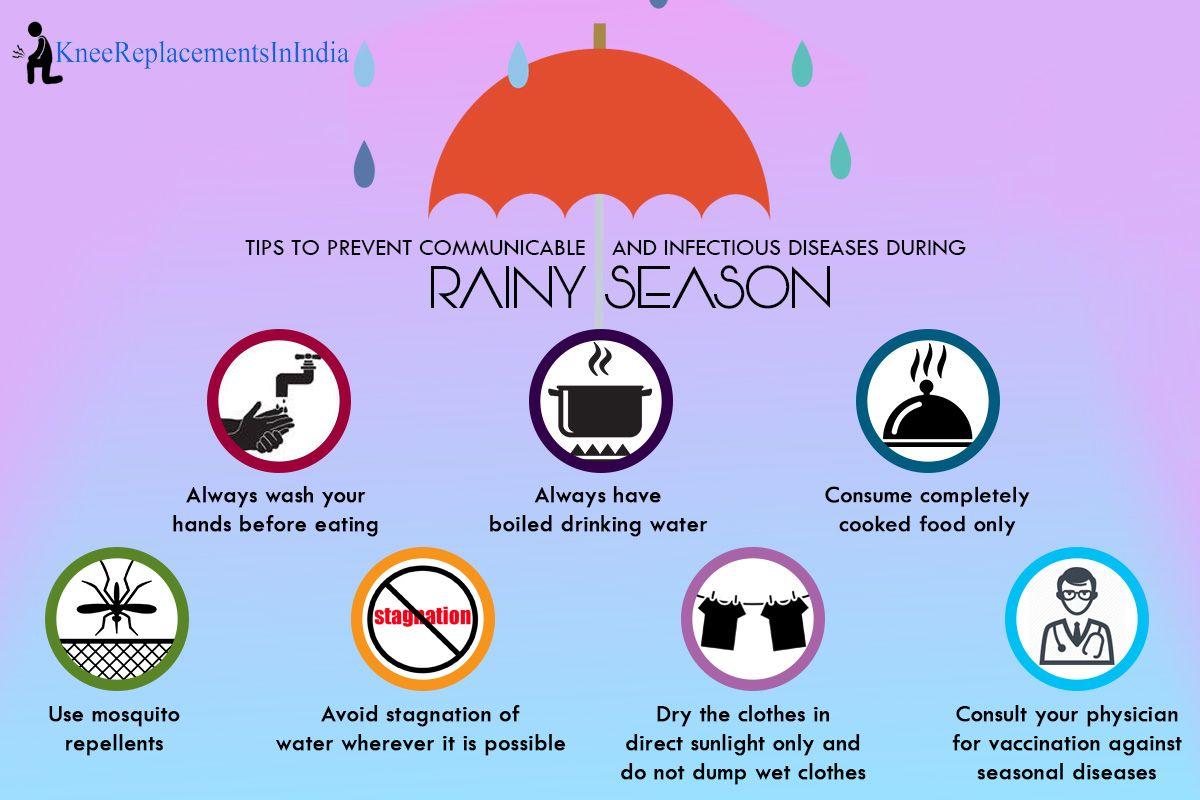 Health tips to prevent diseases during Rainy Season