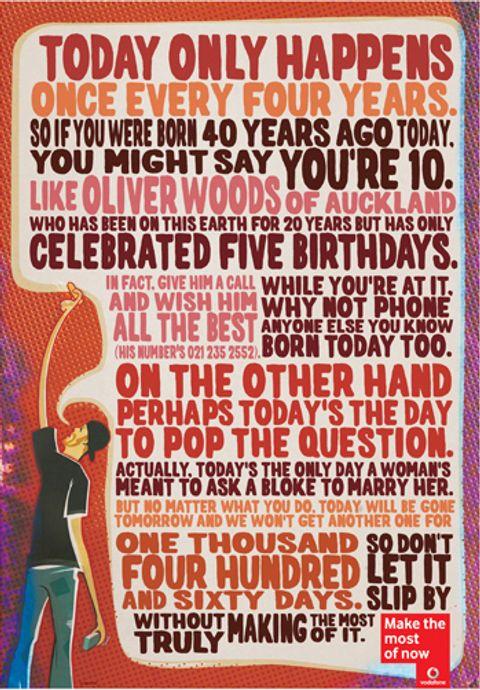 Myd Blog Moss Yaw Design Studio Leap Year Quotes Leap Year Birthday Happy Leap Year