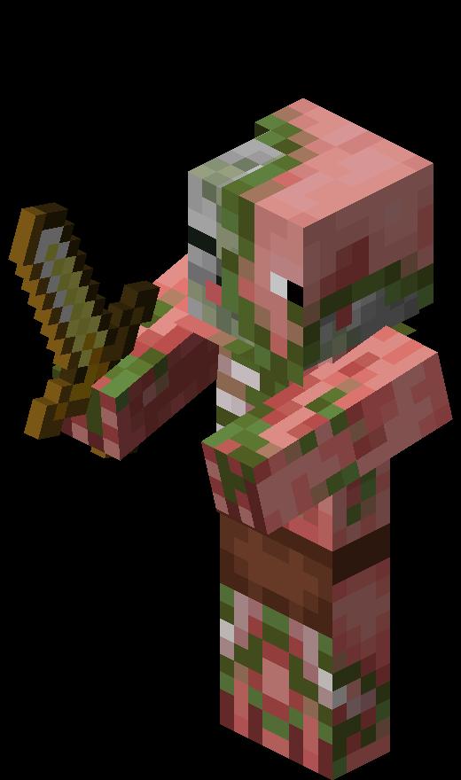 Zombie Pigman Minecraft Wallpaper Minecraft Pictures Minecraft Images