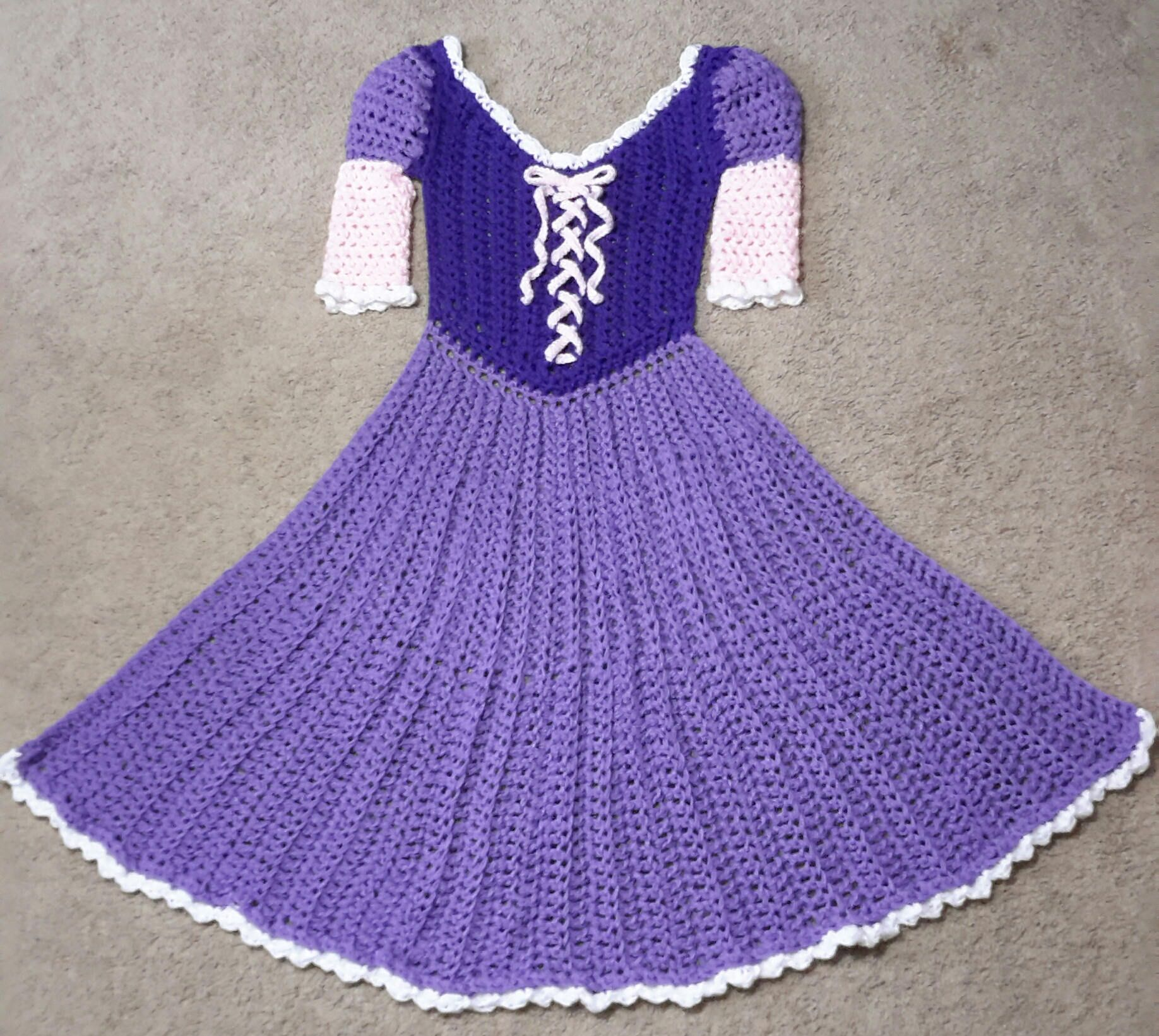 crochet dress to How a adult