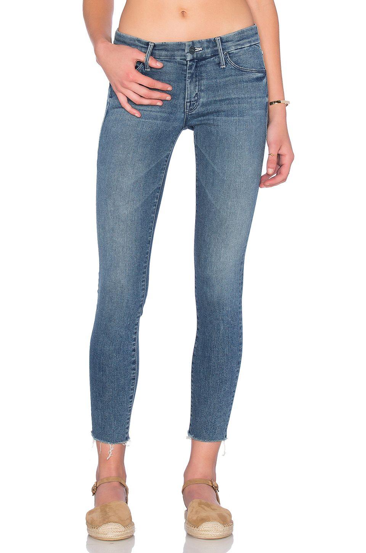 MOTHER Looker Ankle Fray. #mother #cloth #dress #top #shirt #pant #coat #jecket #jacket #shorts #ski