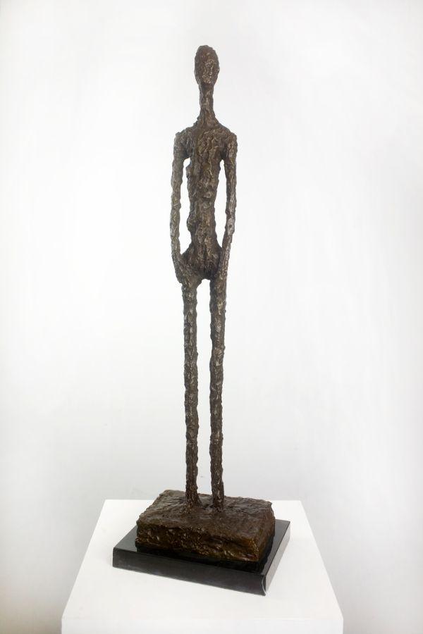 Giacometti Bronze Kopie mit Echtheitszertifikat   Zeitlos Berlin ...