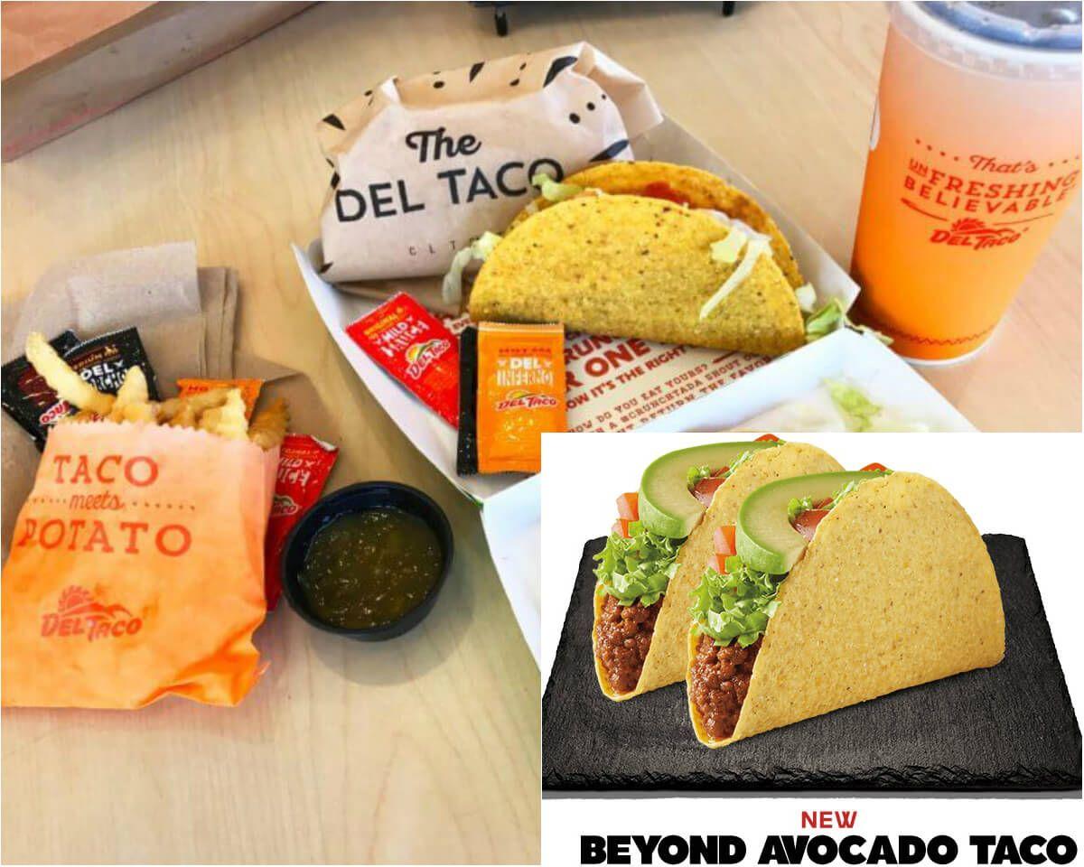 How To Order Vegan At Del Taco Updated June 2019 Vegan Mexican
