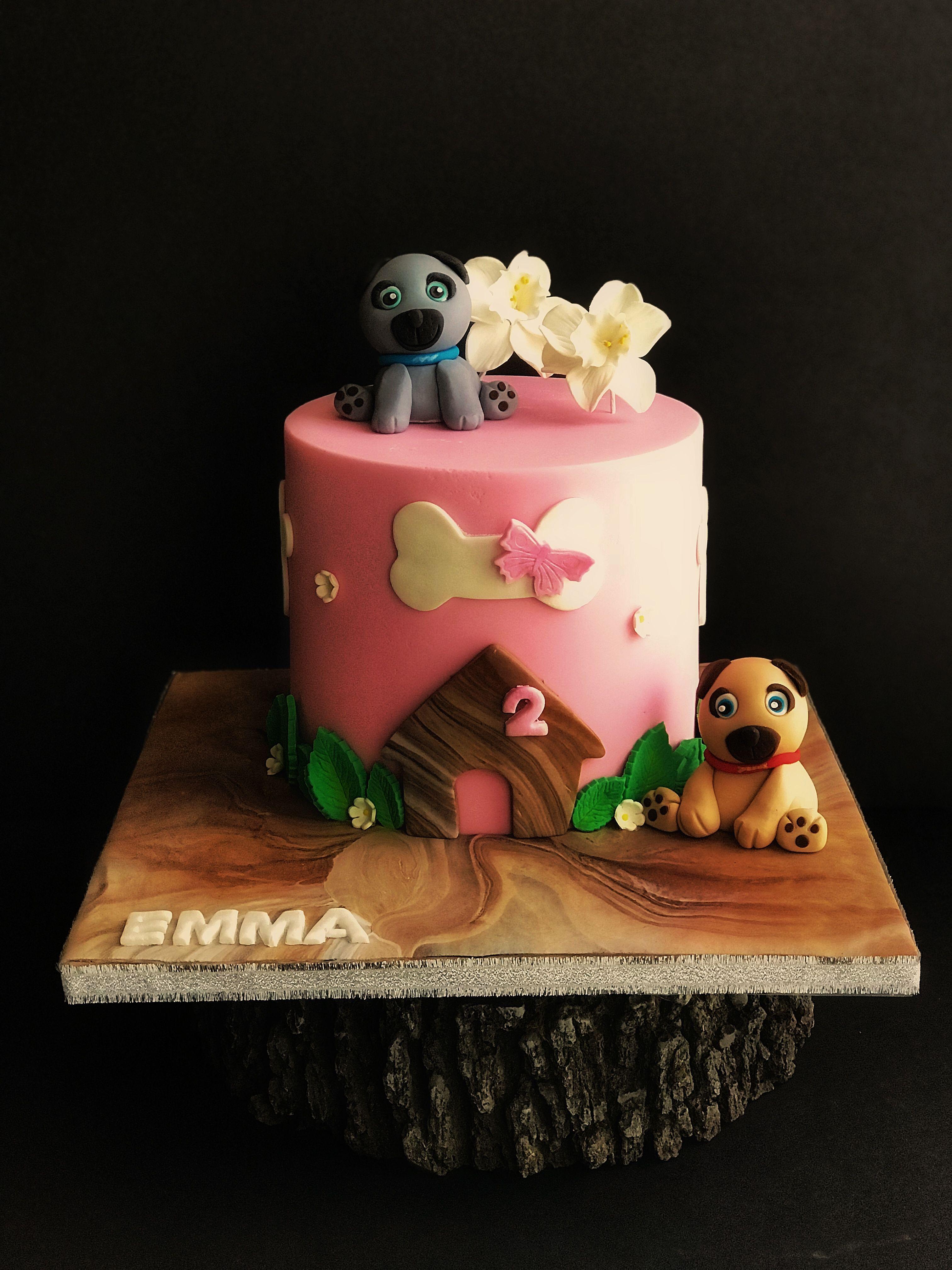Puppy Dog Pals Cake With Images Birthday Cake Girls