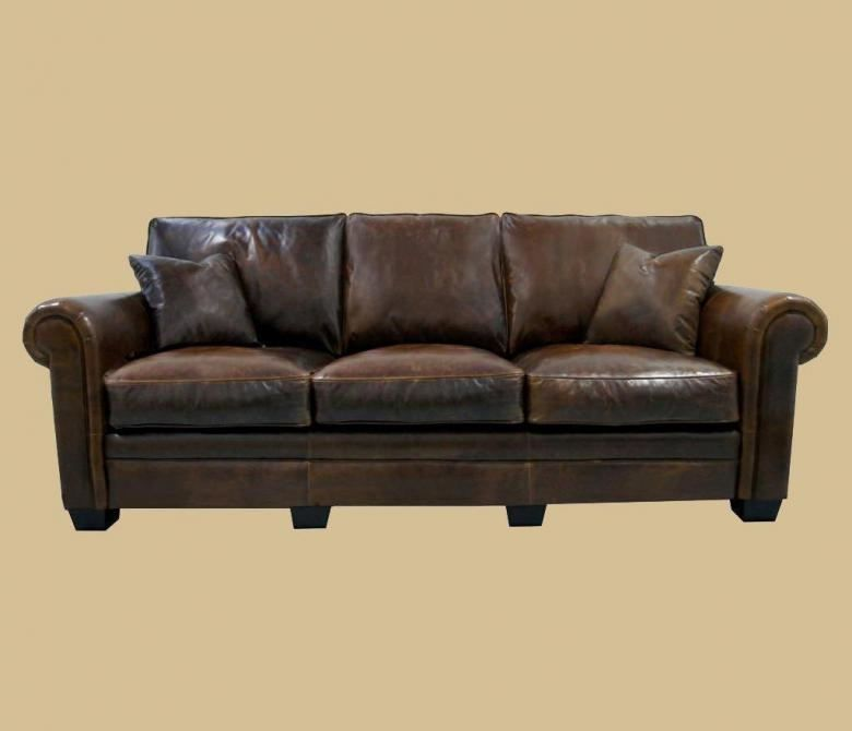 Ordinaire The Emeryville Leather Sofa Set