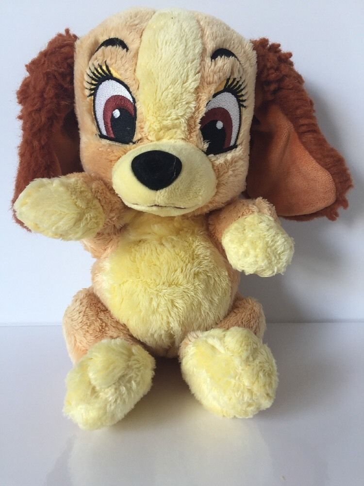 Disney Babies Lady And The Tramp Plush Dog 12 Stuffed Animal