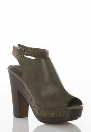 87d635a8e Cato Fashions Wrap Ankle Strap Platform Heels  CatoFashions