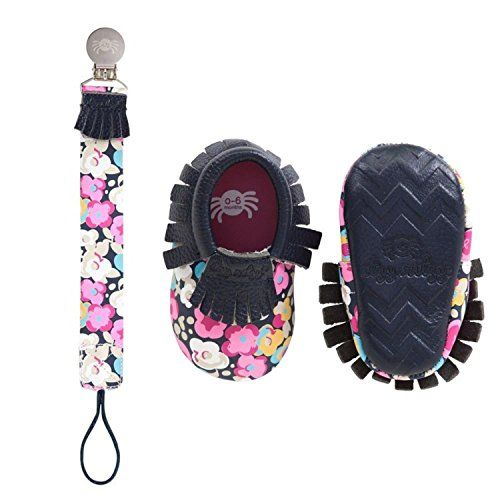 Itzy Ritzy Baby Moccasin Infant Posy Pop 6-12 M US Infant ...