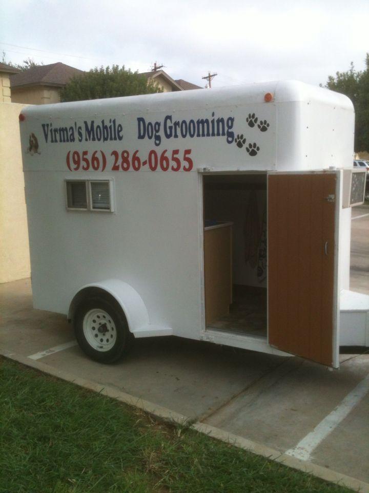 Dog Grooming Trailer Dog Grooming Mobile Pet Grooming Dog Grooming Tips