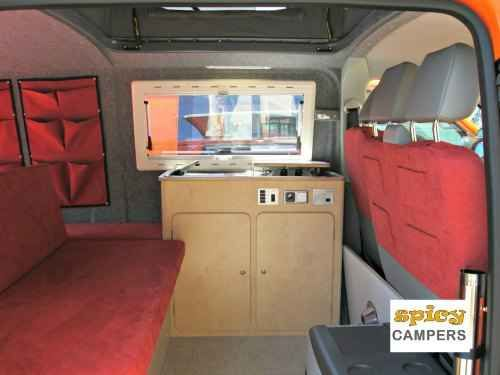 The Spicy Camper Van Conversion Is Made With A Budget Traveler In Mind Our Campervan