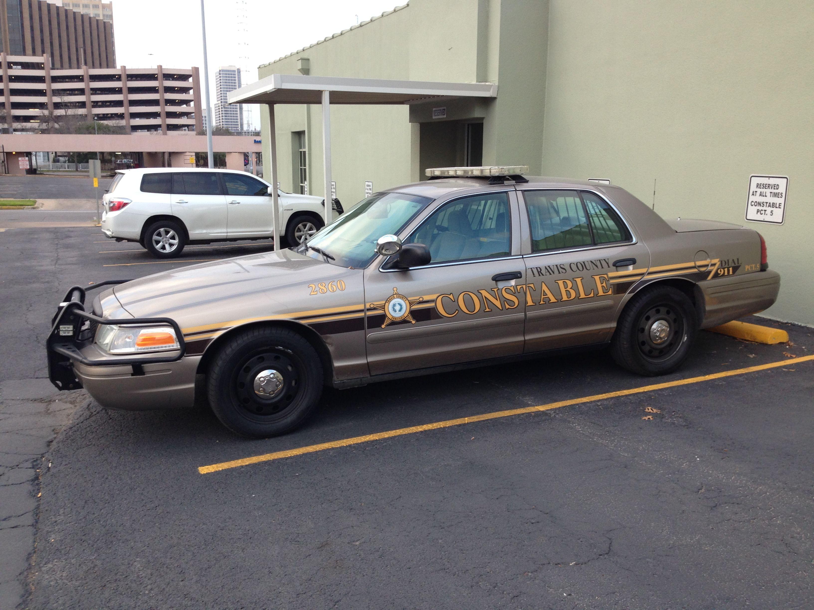 Travis county precinct 5 constable ford crown victoria texas