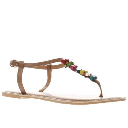 womens schuh tan polly sandals