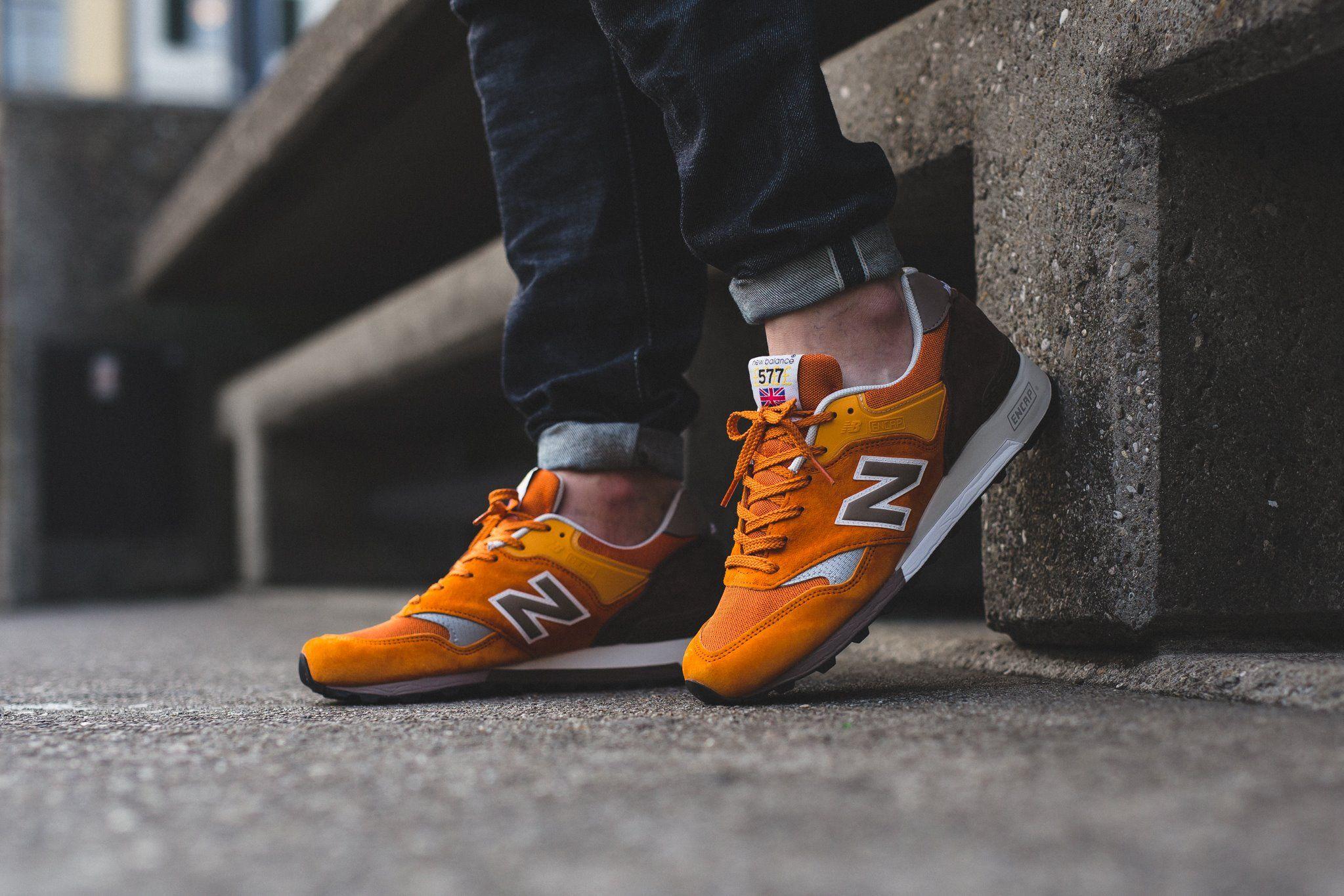 New Balance 577-Orange-1