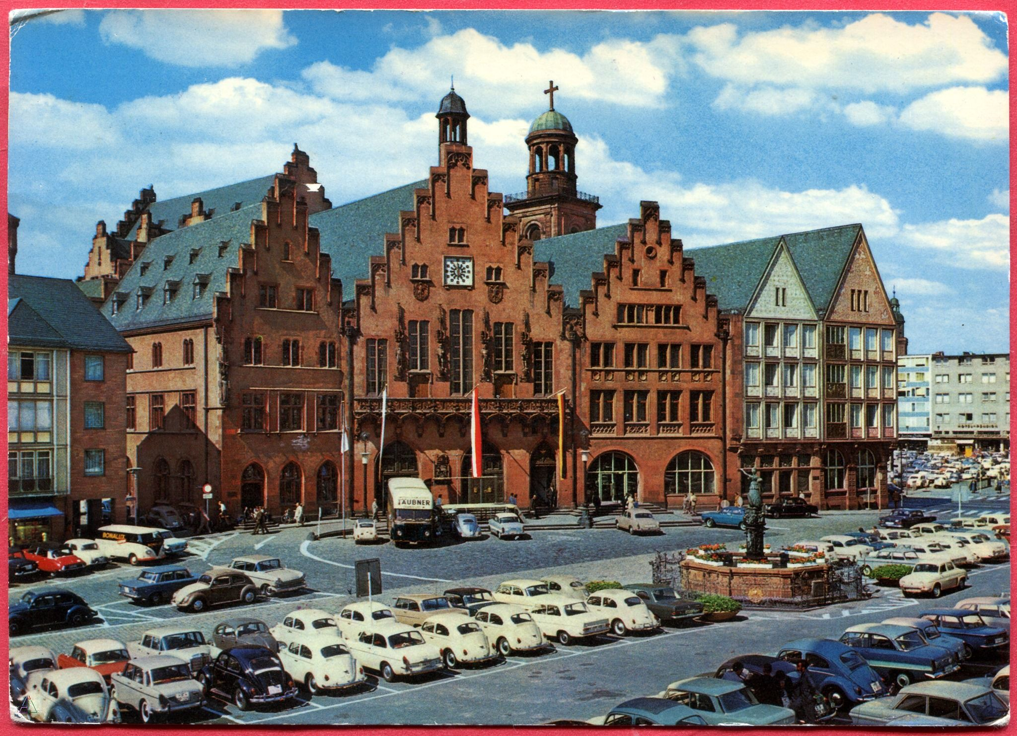 Frankfurt A M Romer Poststempel 2 10 1966 Best Places To Live Frankfurt Am Main Frankfurt