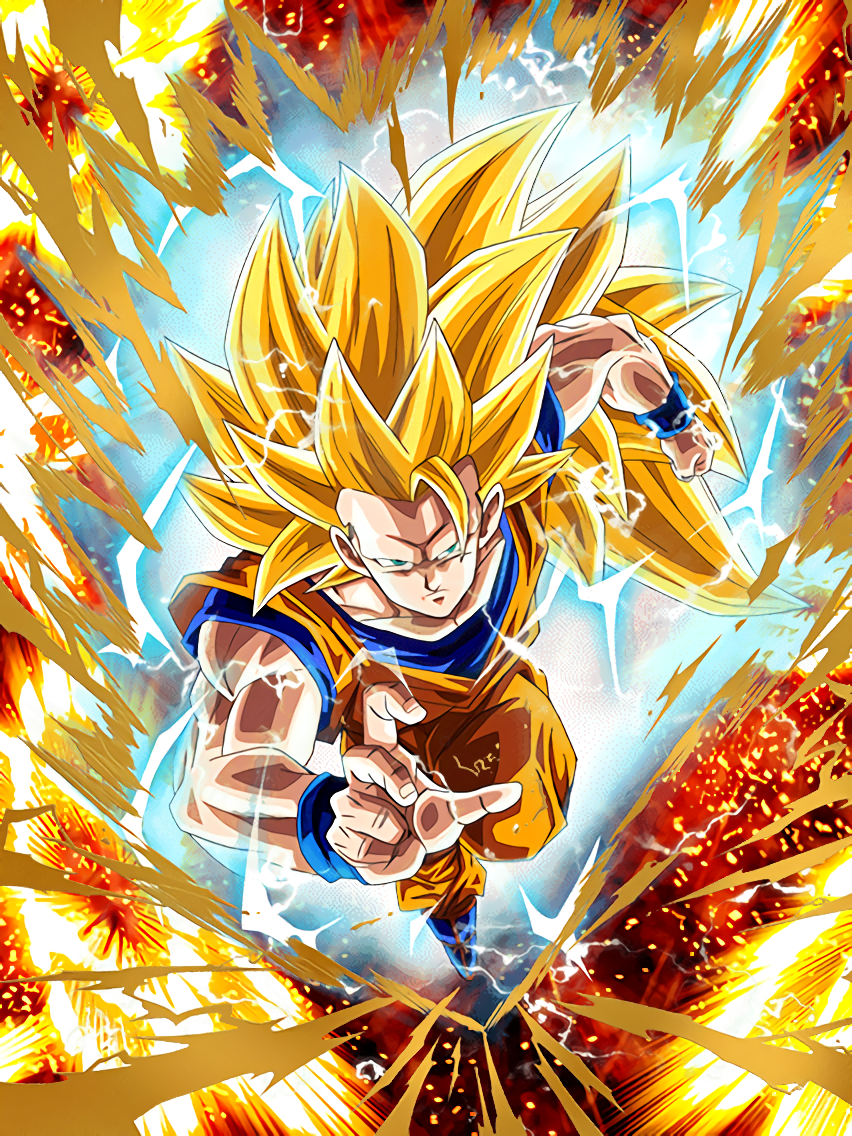 The Power To Shake The Universe Super Saiyan 3 Goku This Is Super Saiyan 3 Dragon Ball Gt Super Sayajin Sayajin 3