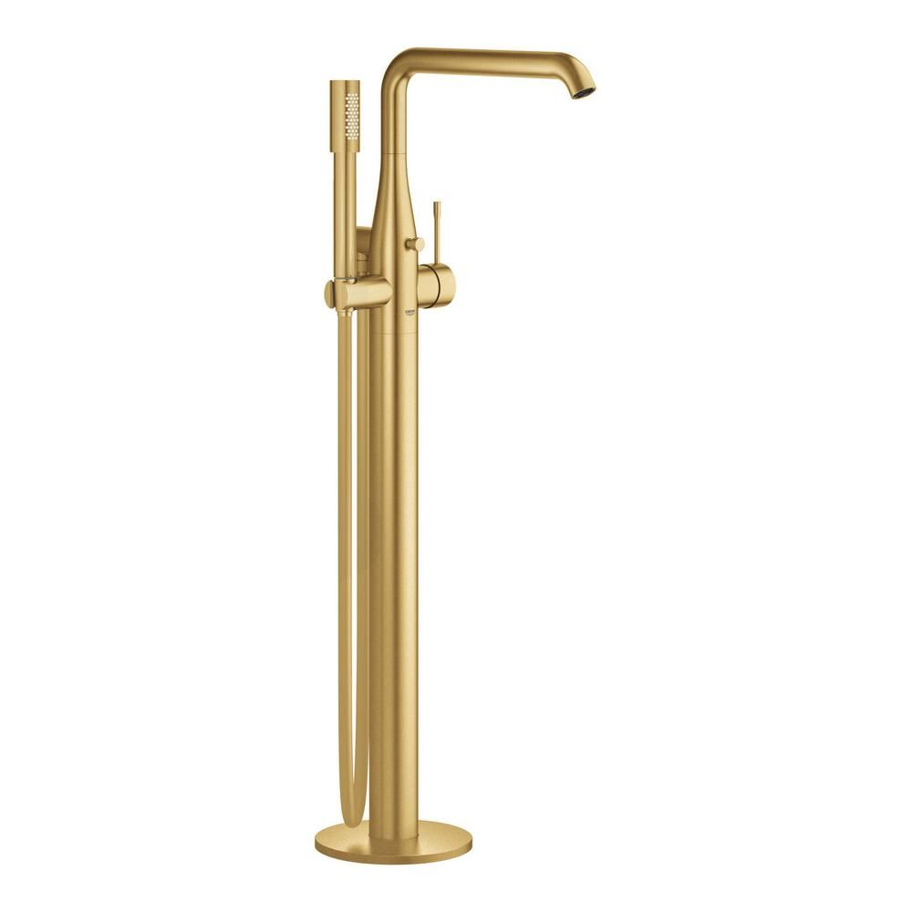 Grohe Essence Single Handle Floor Standing Roman Tub Faucet With