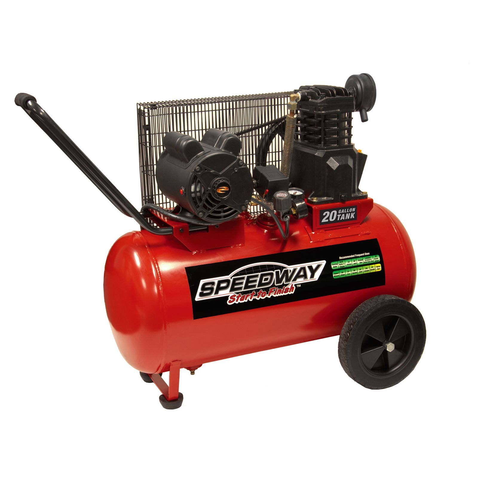 Speedway 20 Gallon Electric Powered Portable Air