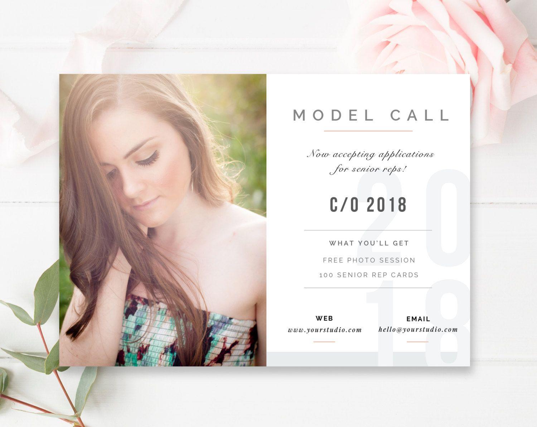 Model Call Template Senior Photography Casting Call Senior Rep