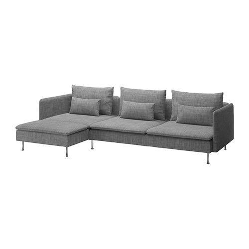 S–DERHAMN Canapé 3 places méri nne Isunda gris IKEA