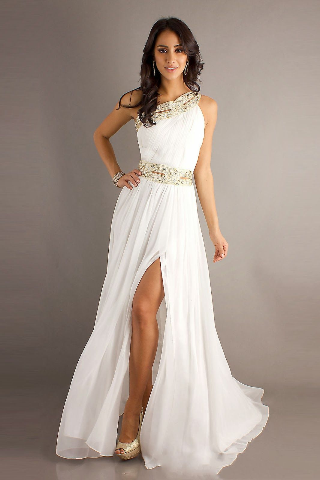 This one shoulder prom dress by Bari Jay adds a modern day twist ...