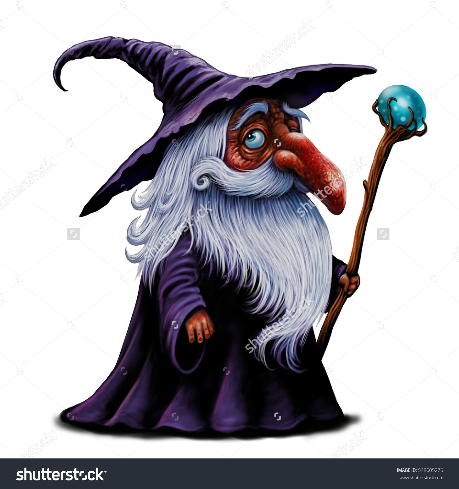 Cartoon Wizard Illustration Magic Old Man With Magic Stick Fairy Tale Character Man Illustration Cartoon Illustration Prints for nurseries, wizard illustrations, turtle on 300gsm cotton rag paper, limited edition print of 50. pinterest