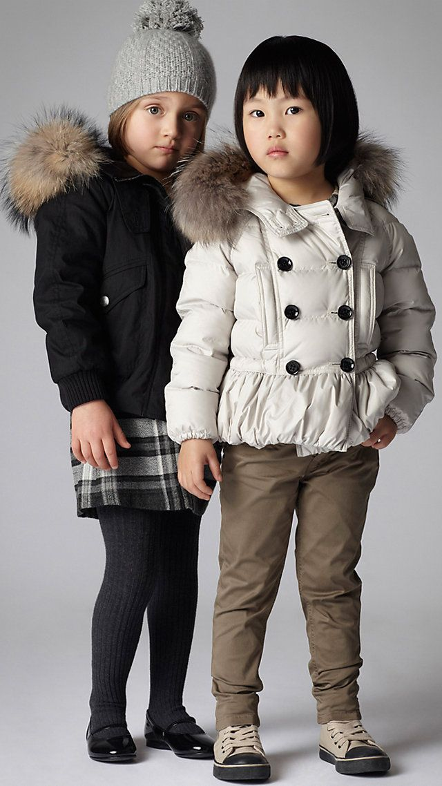 Burberry Girl 4-14yrs. Got the Look.   #Children's Fashion