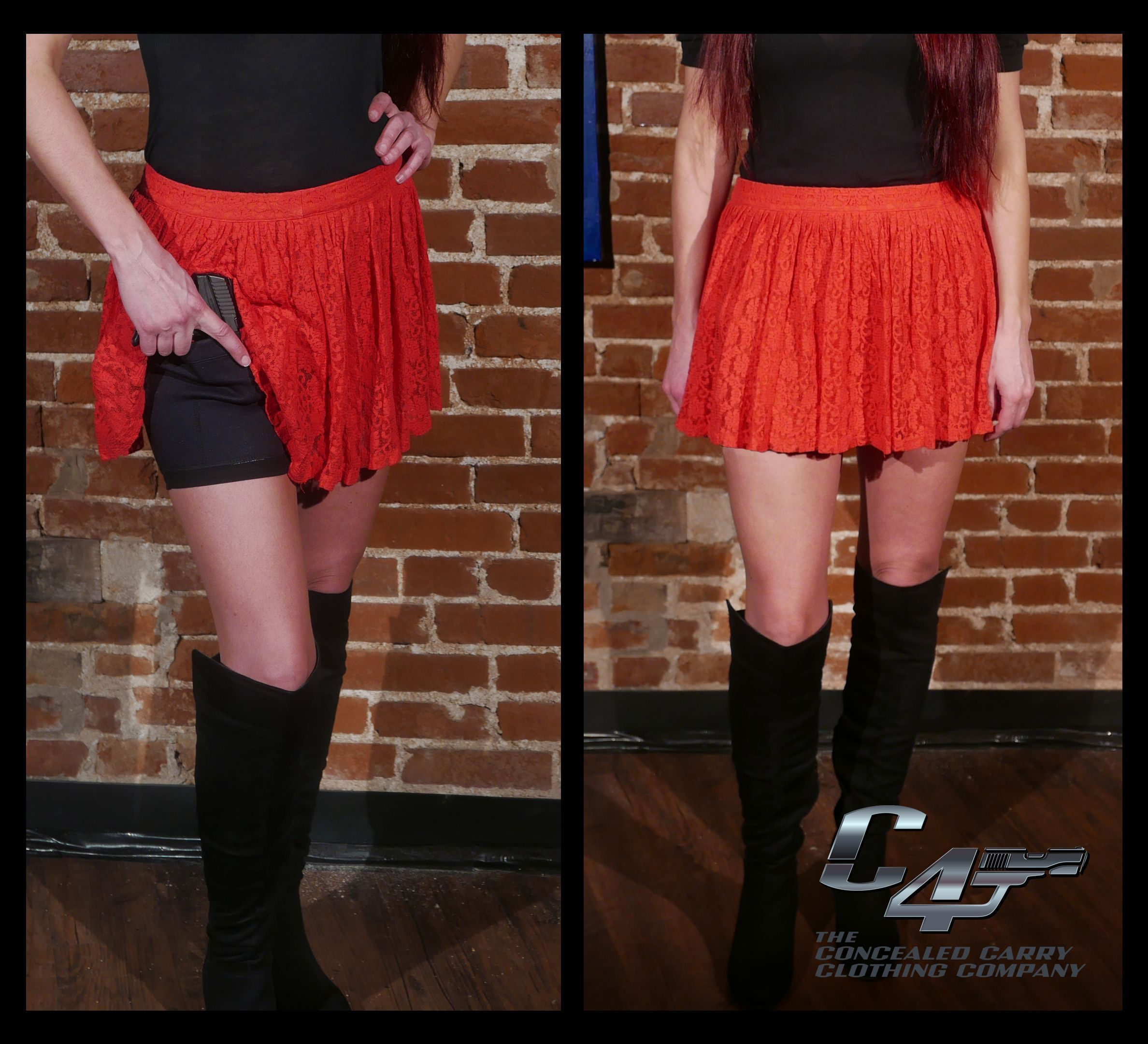 654433980ceb7 Super cute way to conceal carry under skirts and dresses!
