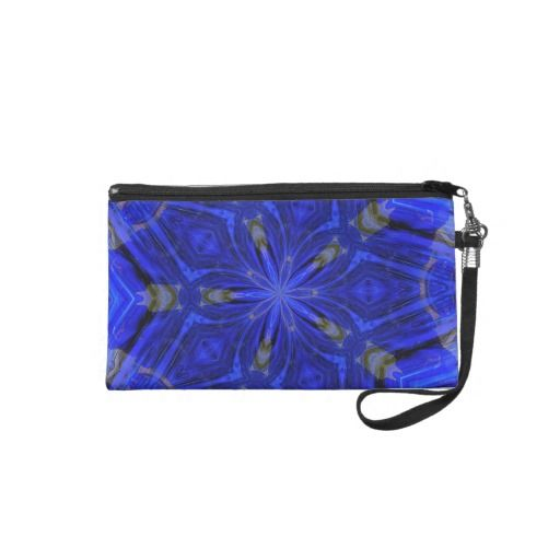 Clutch purse with the Blue Glass design.