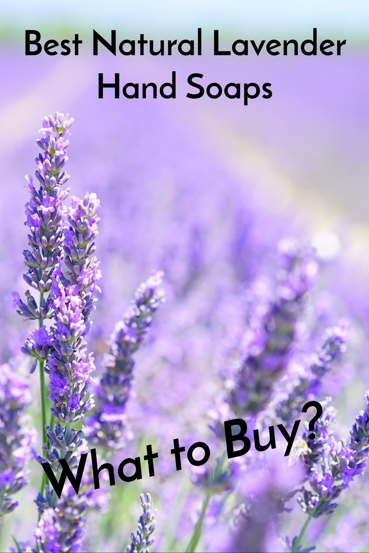 Whether a fan of liquid, foam or a brand such as Jason, Method or Mrs. Meyers, these lavender soaps will sweet you off your feet.