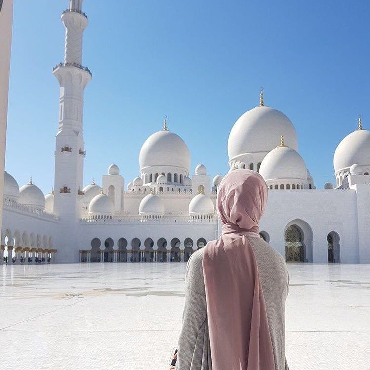 Image result for hijab in mosque