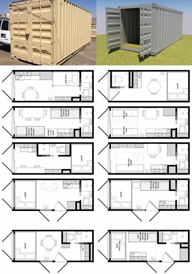 Shippung container plans