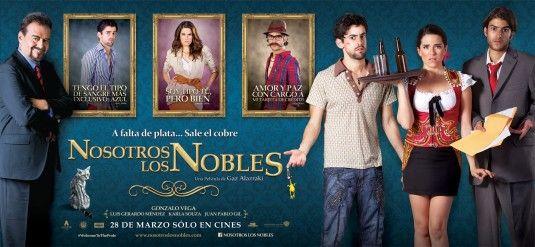 Nosotros Los Nobles 2013 Mexico 1eyejack Family Poster Hard Movie It Cast