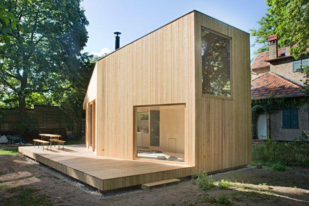 H tten und pal ste architekten architektur pinterest for Mini wohnhaus