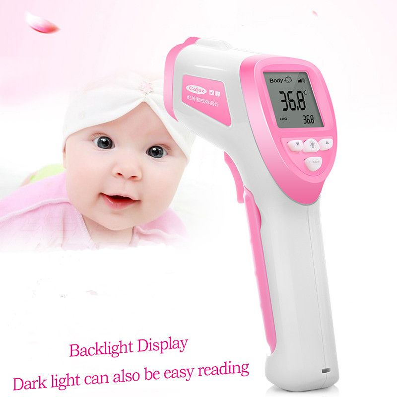 Professionelle baby Digital LCD Infrarot-thermometer gun berührungslose IR Temperaturmessung Meter Diagnose-tool Gerät
