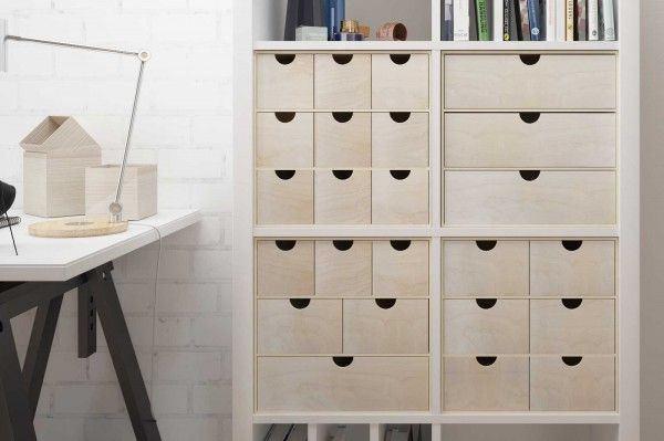 Photo of Chest of drawers for Ikea Kallax shelf