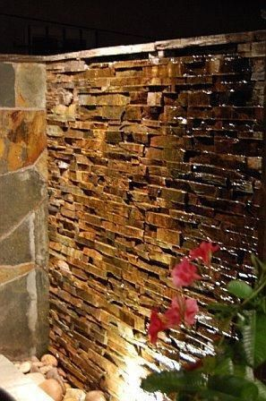 600mm Diy Water Wall Wall Wash Effect Spillway Kit