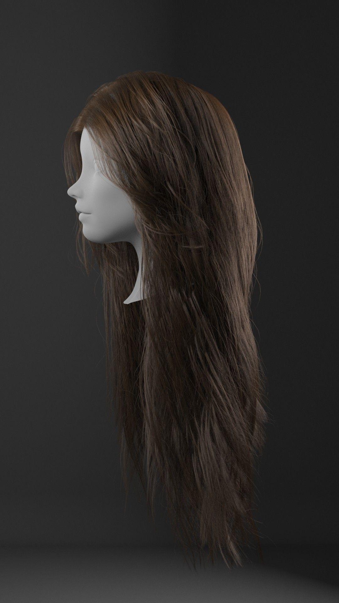 Realistic Female Hair Tutorial With Xgen & Redshift By Obaida Hamdi €�  Zbrushtuts